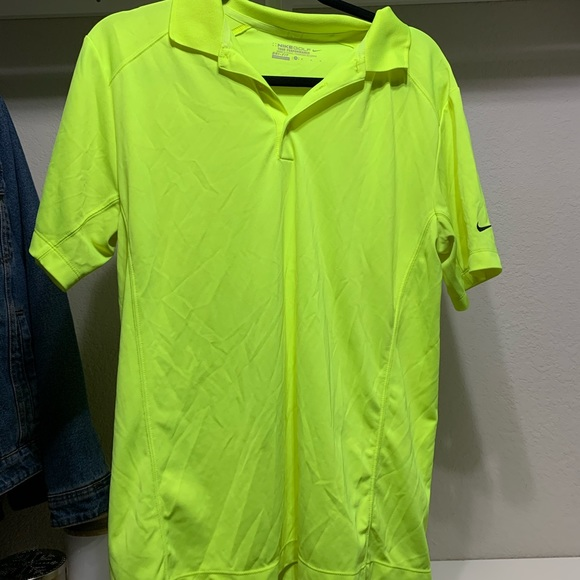 Nike Other - Neon Nike Golf shirt